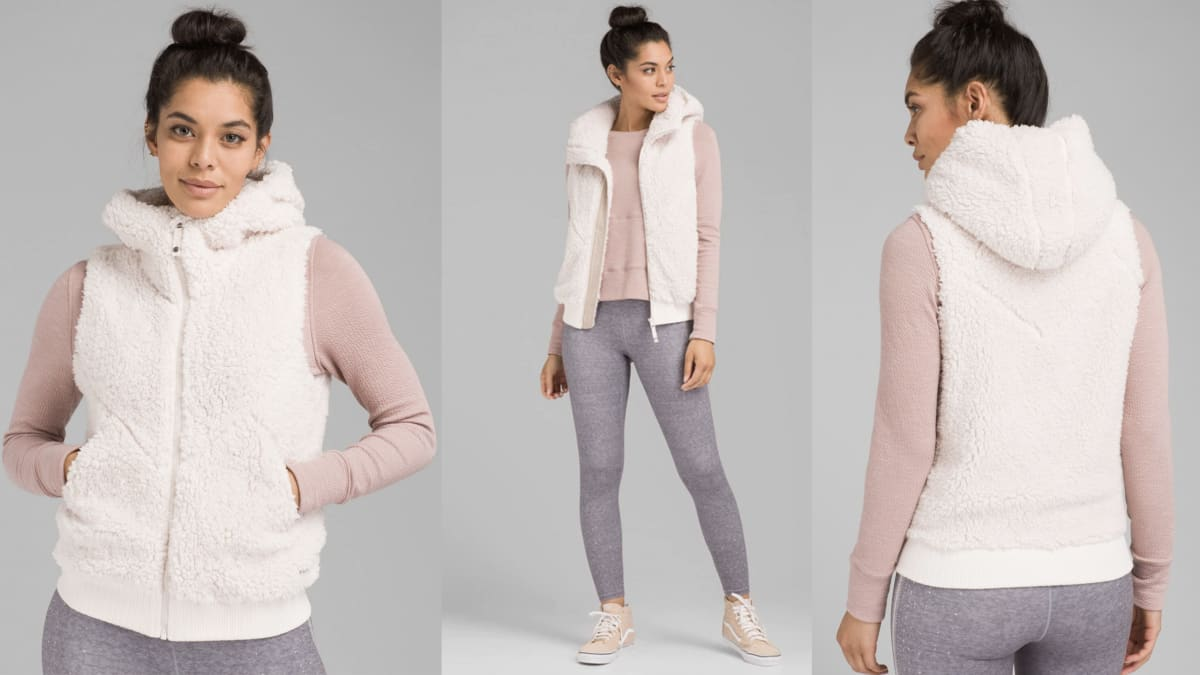 Full Zip PrAna Permafrost Lightweight Women's Vest Takes on Bloomingdale's and Tommy Hilfiger
