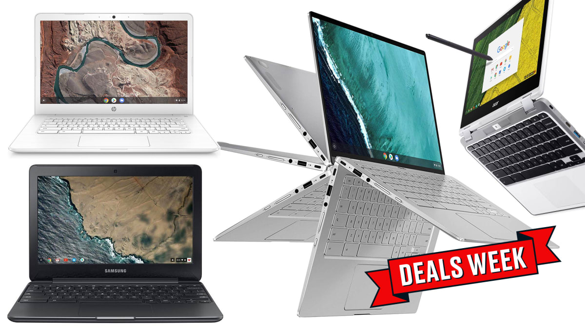Save Up to 40% off Select Chromebooks on Amazon for Cyber Monday