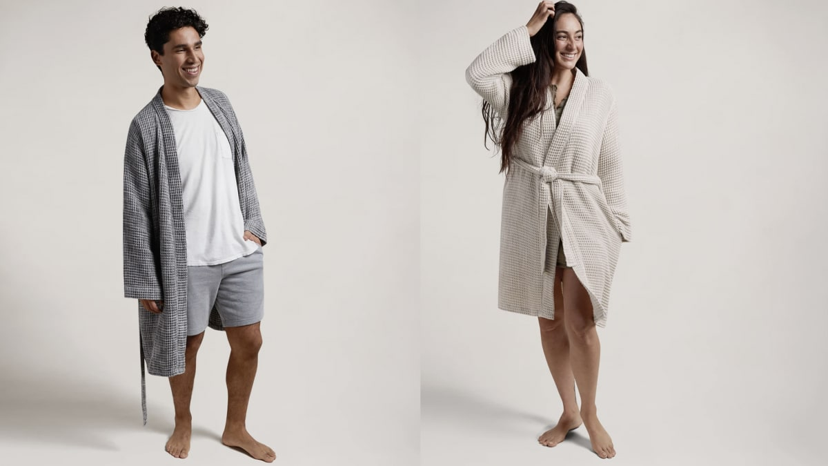 The Parachute Waffle Knit Robe Is Like Wearing Your Favorite Towel