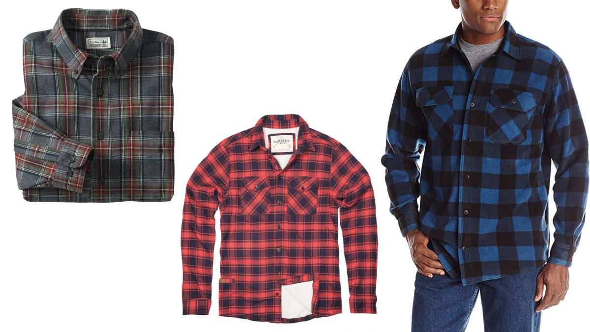 The Best Men's Flannel Shirts for Layering or On Their Own