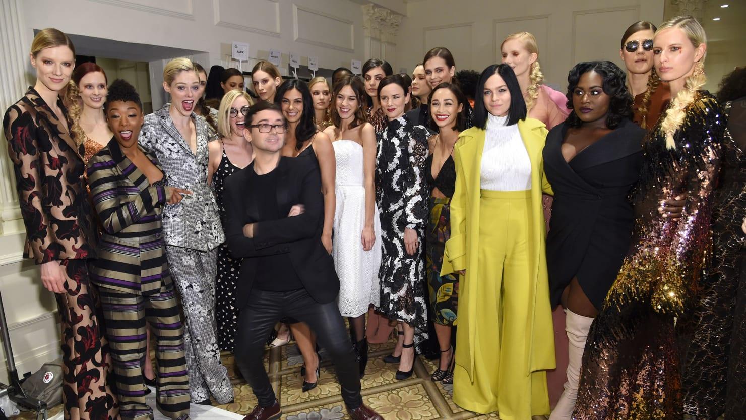 Tiffany Trump And Marla Maples Hit New York Fashion Week Secret Jfashion Korean Style Double Layer Blouse Ivanka Service Included