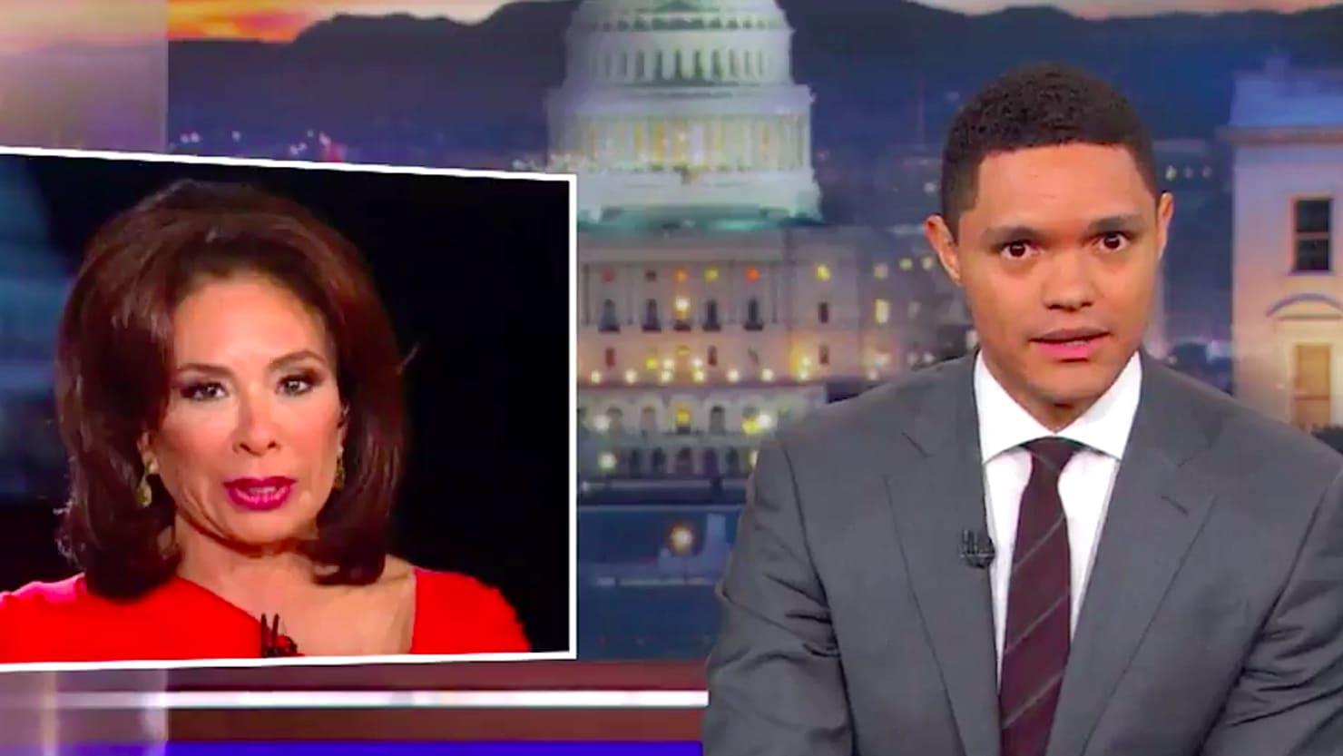 'Daily Show's' Trevor Noah Compares Fox News' Jeanine Pirro to North Korean Propaganda