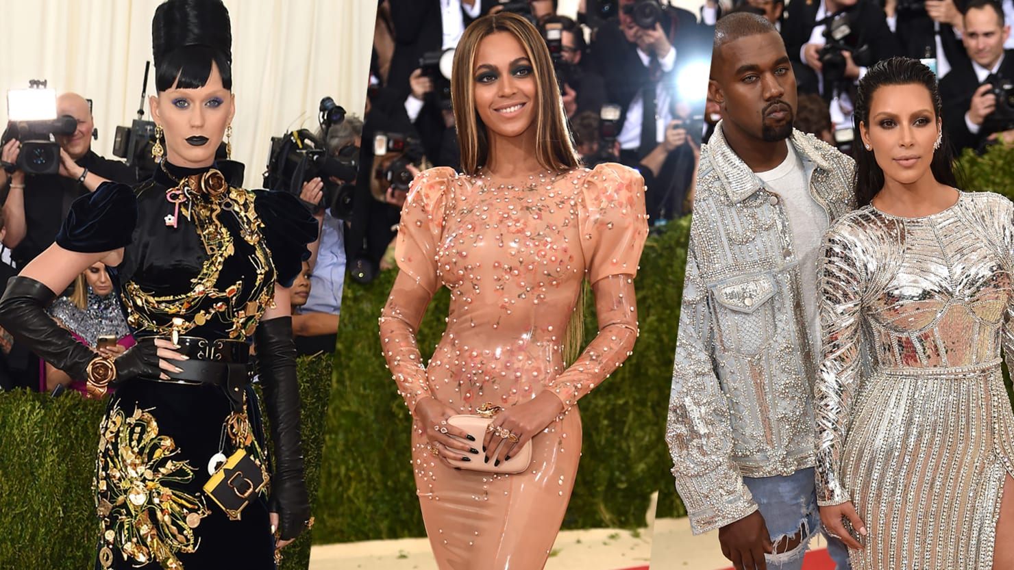 How Beyoncé and Katy Perry Won the Met Gala Red Carpet