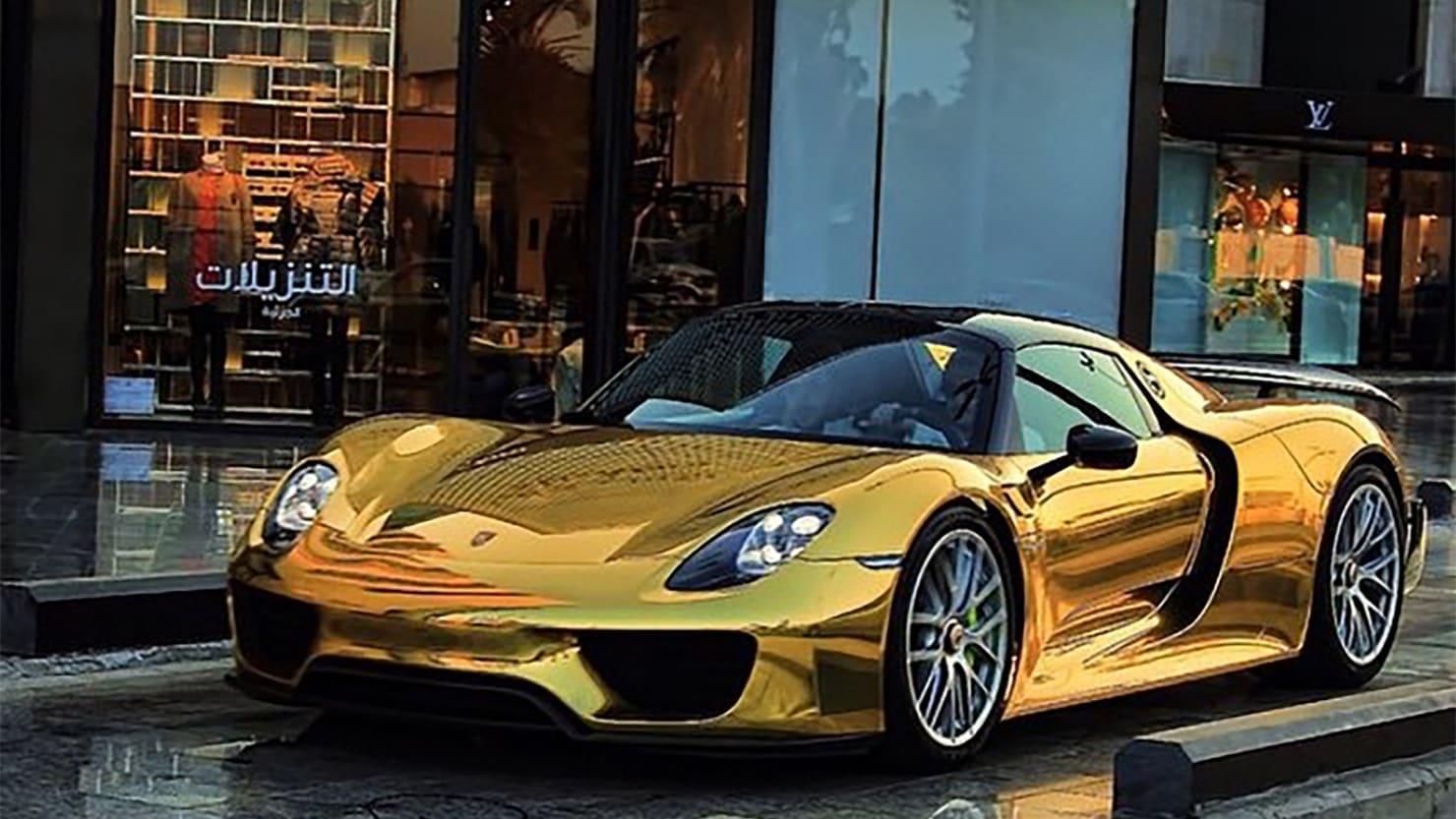 Afbeeldingsresultaat voor dubai gold cars