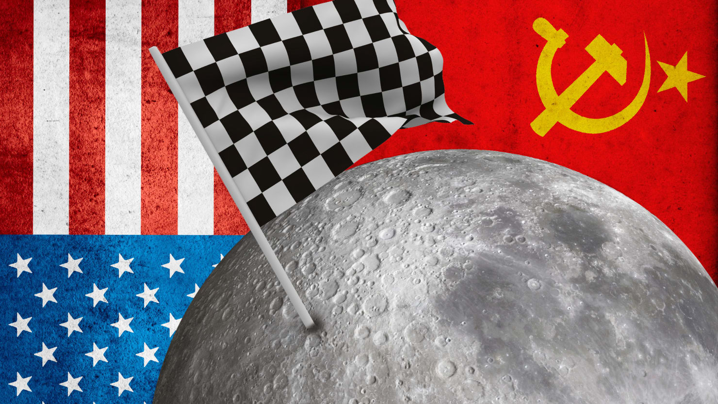 Who was the first to travel to outer space Space battles between the USSR and the USA