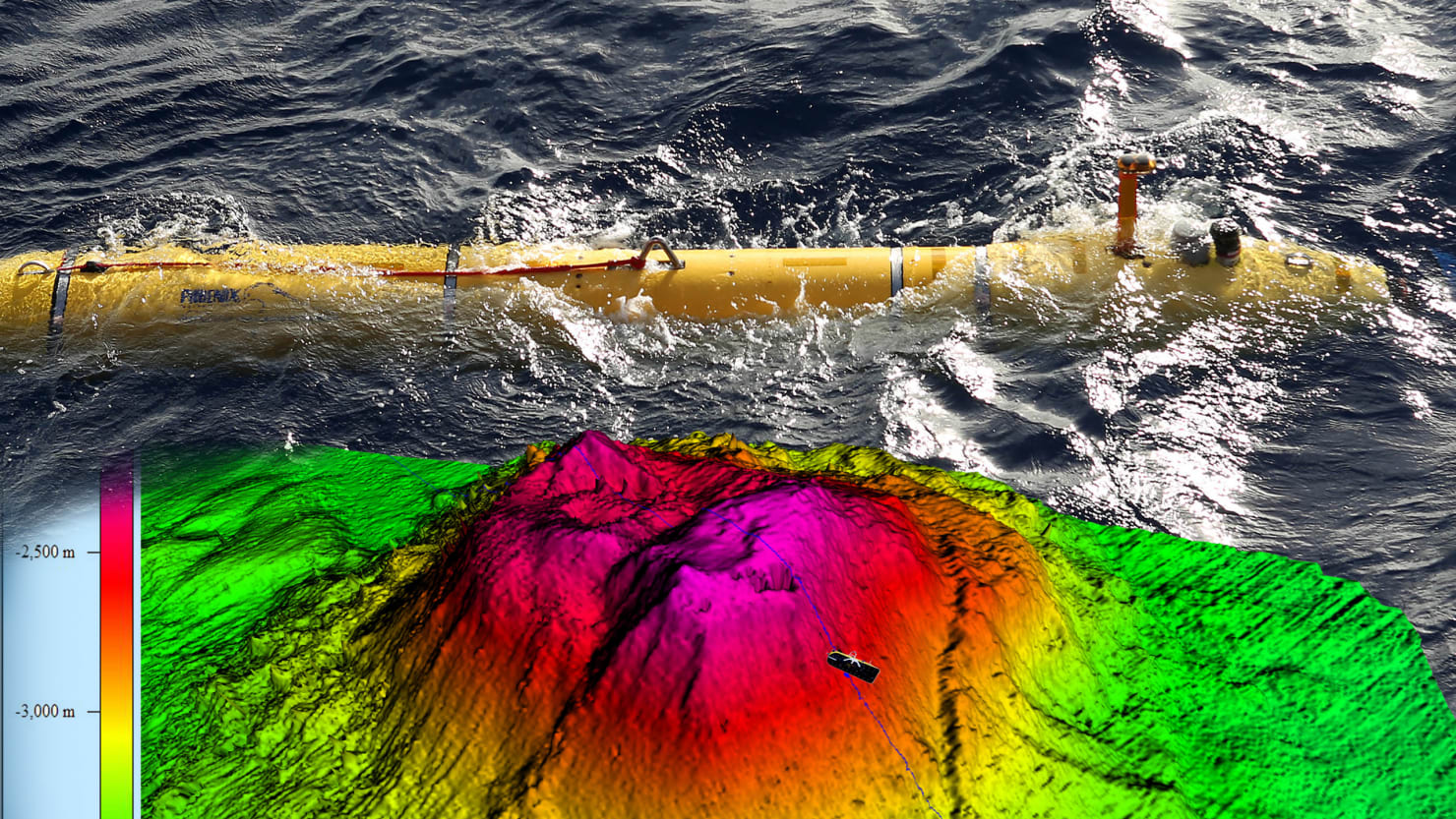 Underwater Volcanoes and Shipwrecks Found in the MH370 Search