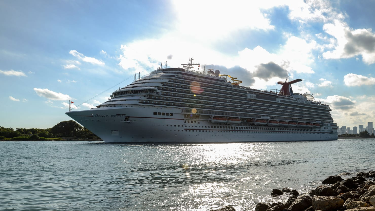Inside the Cruise Ship Quarantined Over Ebola Fear