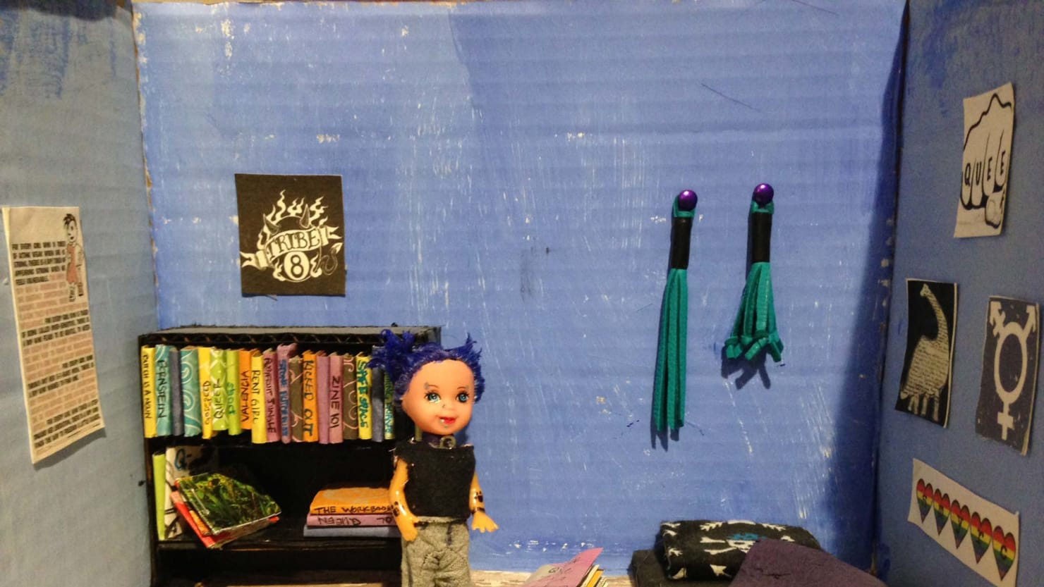 K And K Auto >> The Power of Literature: The Queer Book Diorama Project ...