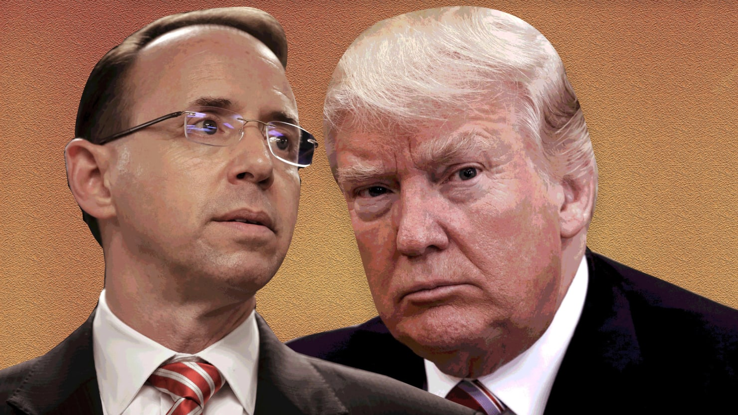 Image result for Trump vs Rosenstein