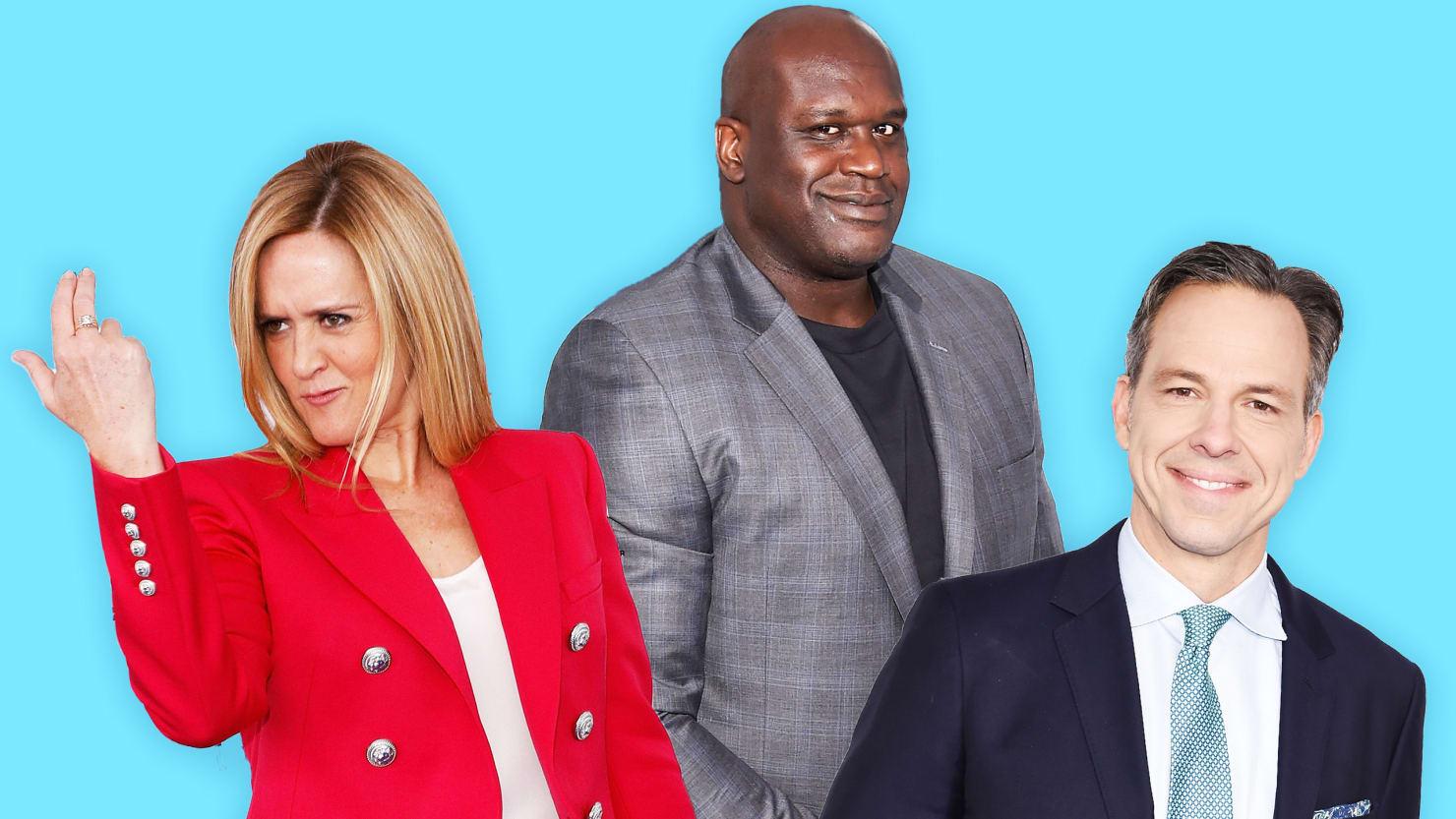 'I'm Shocked': Samantha Bee, Shaq, Jake Tapper and More Talk Life Under President Trump