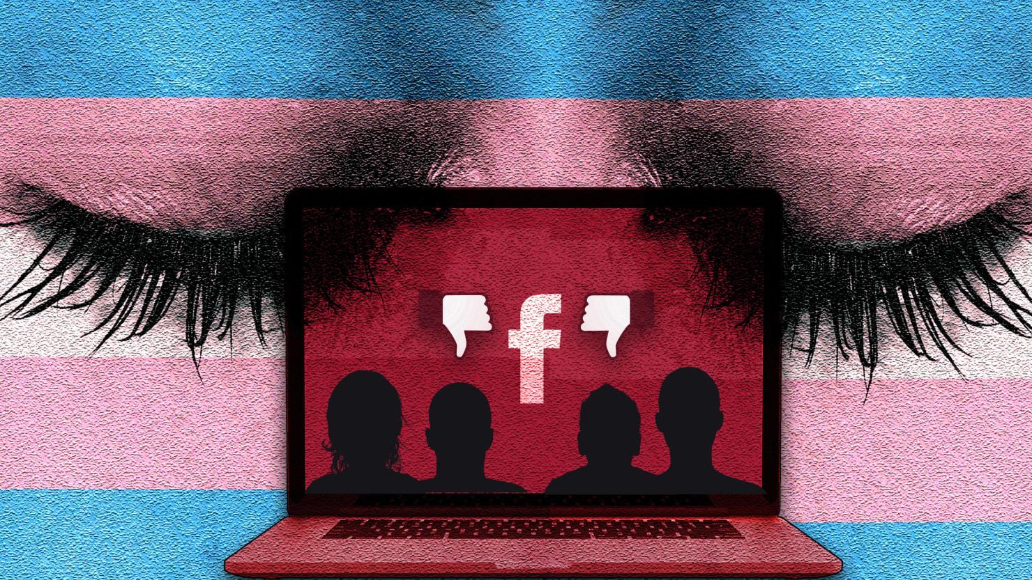 facebook u0027s pride rainbows don u0027t extend to trans people u0027s names