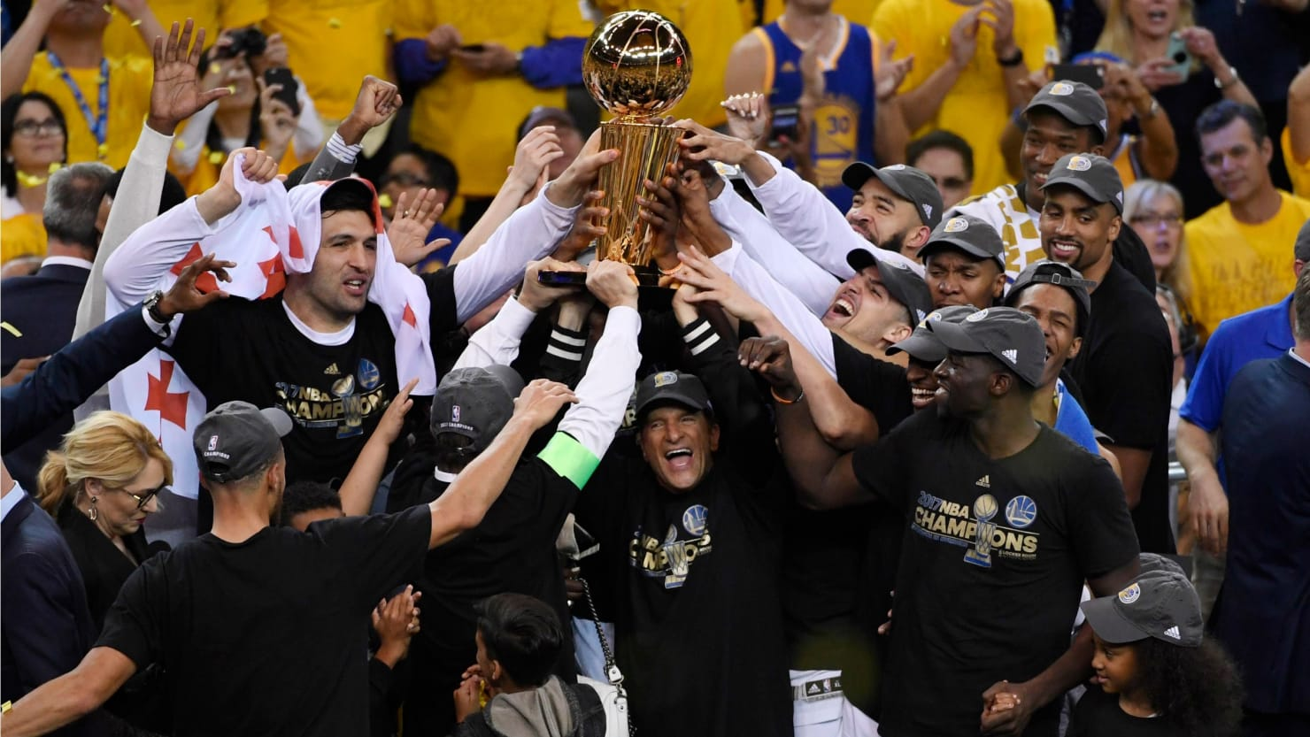 Golden State Warriors Beat Cleveland Cavaliers to Become ...