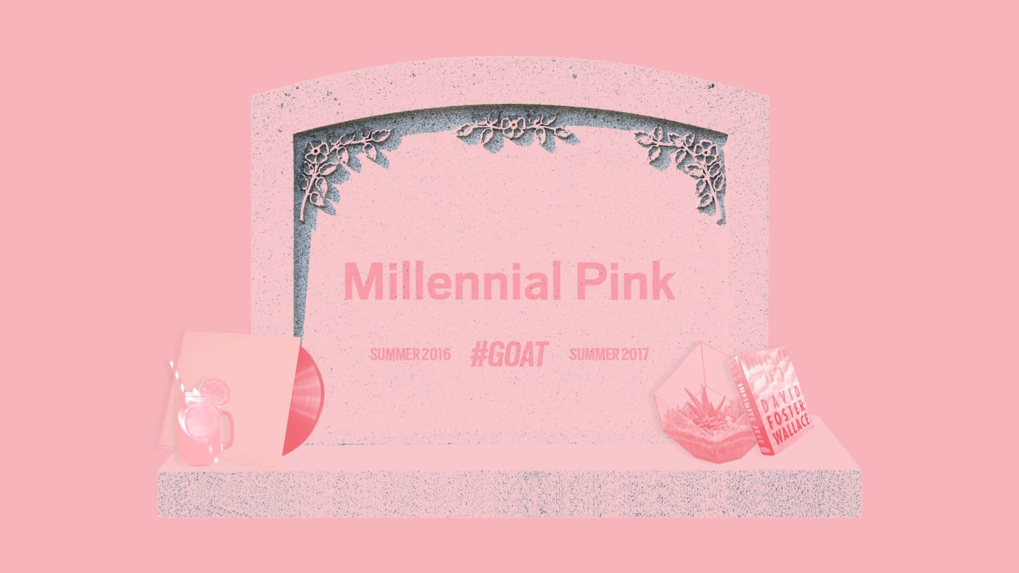 millennial pink u0027 has lost its cool prepare for the return of red