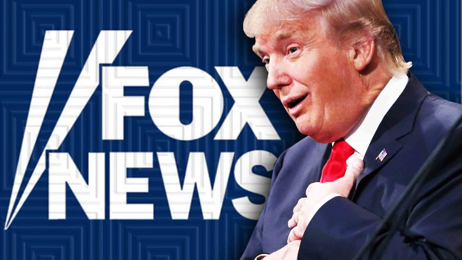 Image result for image, photo, picture, trump on fox news