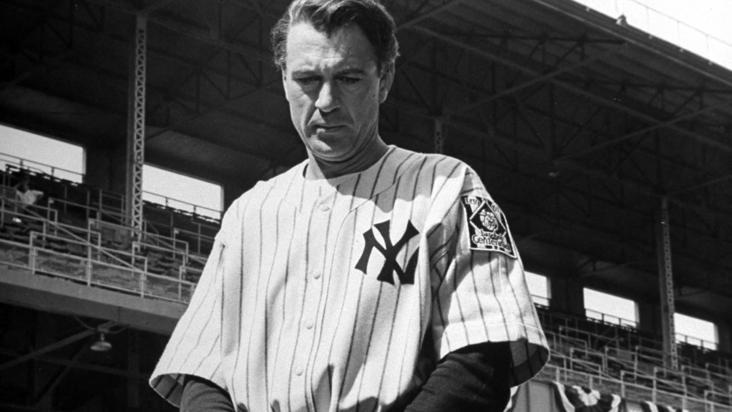 how gary cooper locked up the role of lou gehrig