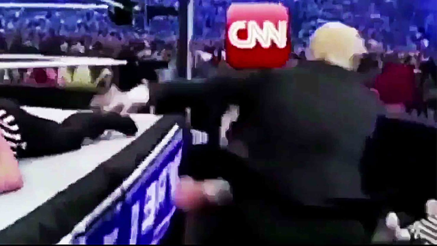 Cnn World News Twitter: Trump Tweets Video Of Him Punching CNN—White House