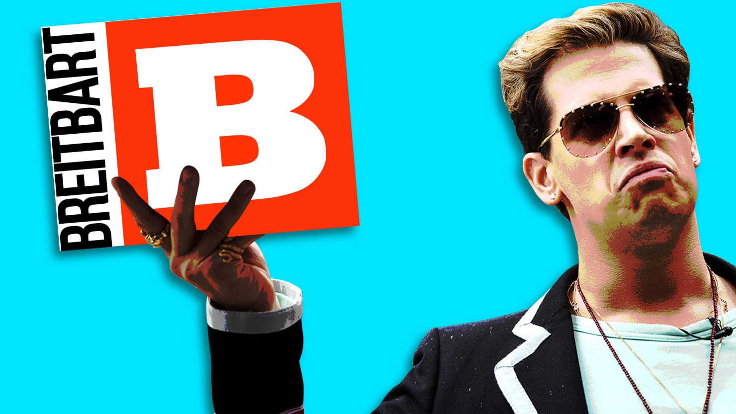 how breitbart fell back in love with alt right troll milo yiannopolous