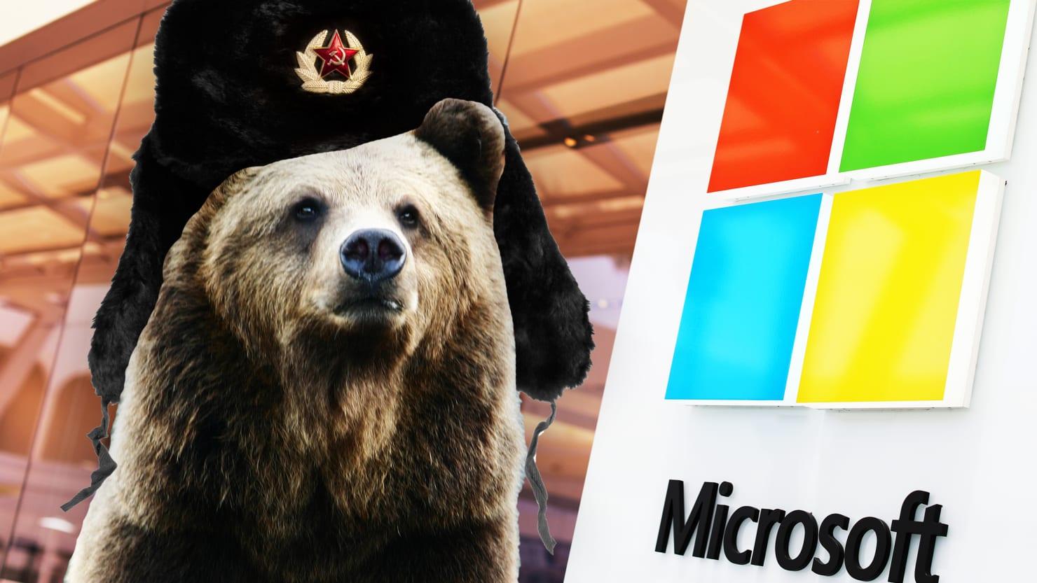 Картинки по запросу microsoft russia hackers