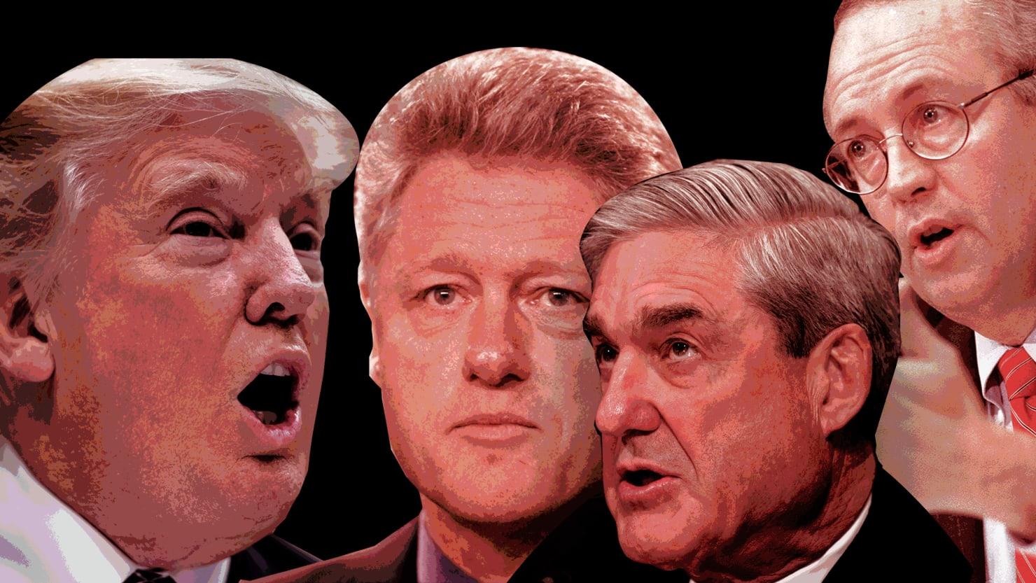 Trump vs. Mueller is Nothing Like Clinton vs. Starr