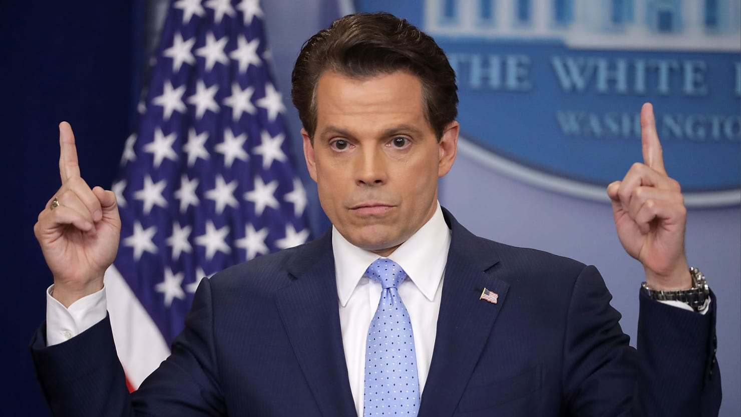 how anthony scaramucci went from a wall street carnival barker to