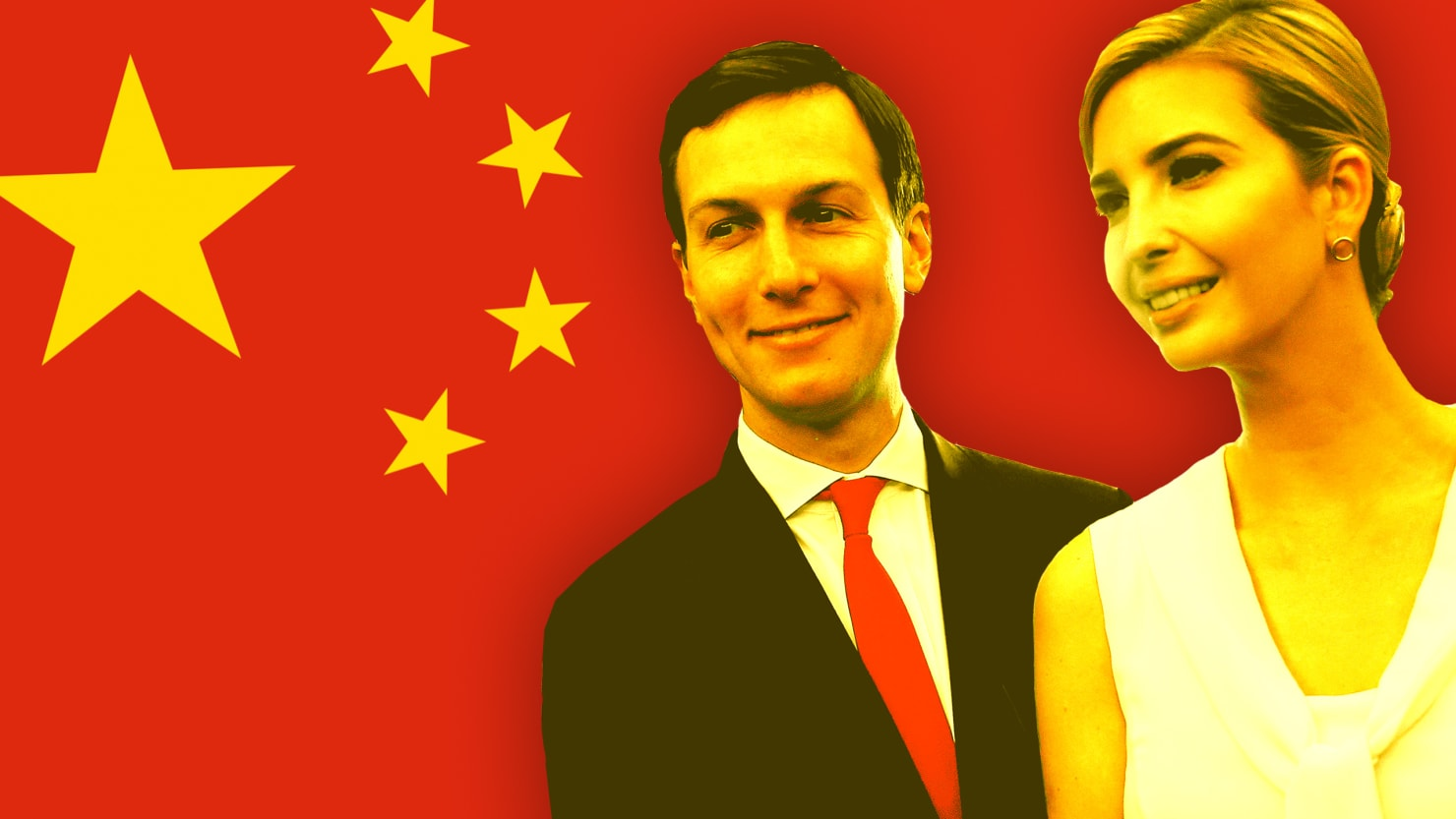 Image result for photos of jared kushner in china