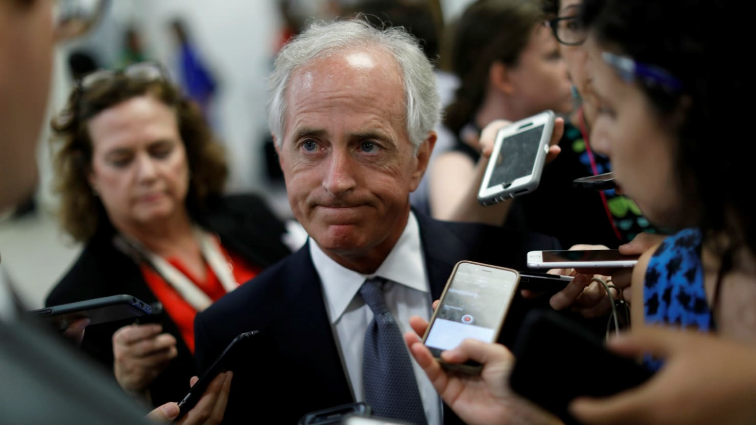 GOP Sen. Bob Corker: Trump Hasn't Demonstrated 'Stability,' 'Competence'