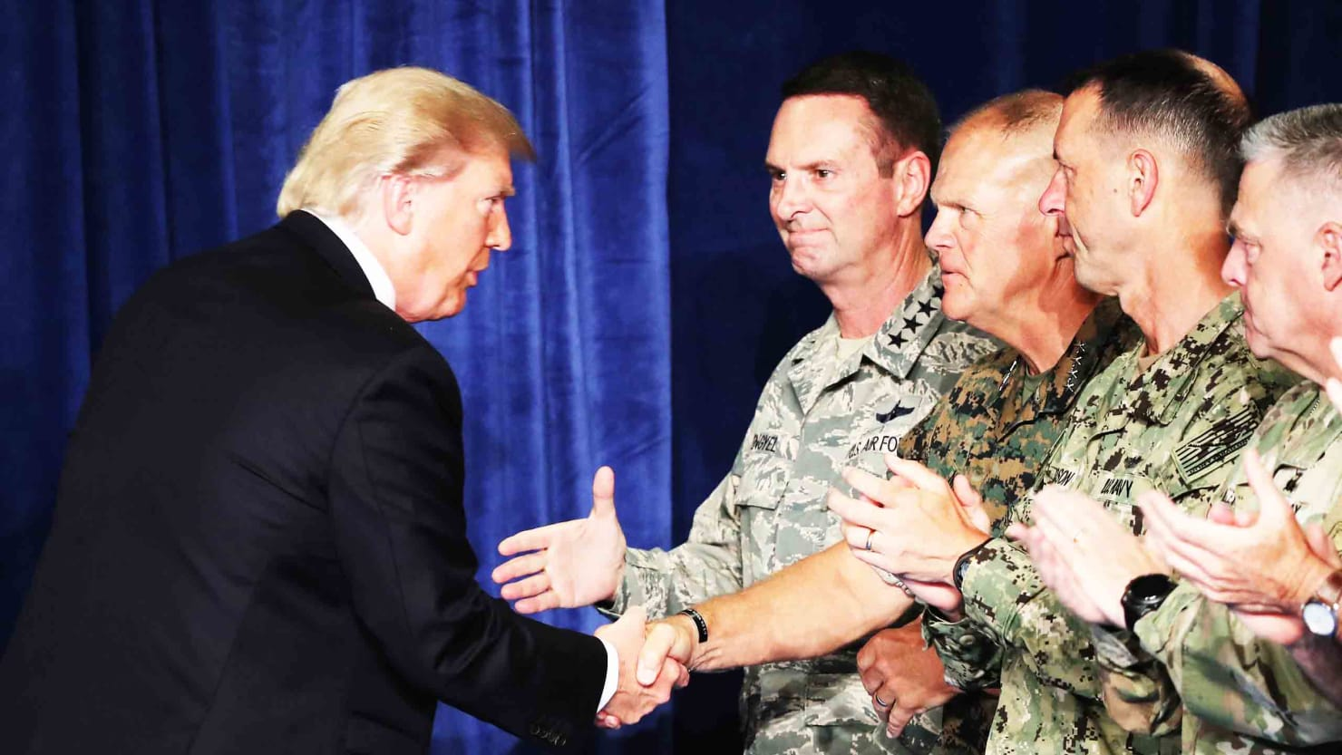Trump's Base Bewails Unlimited War after His Afghanistan policy speech.
