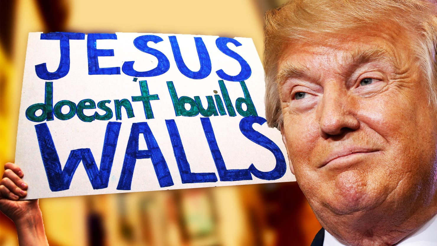 Evangelicals are losing faith in Trump after racist rantings.