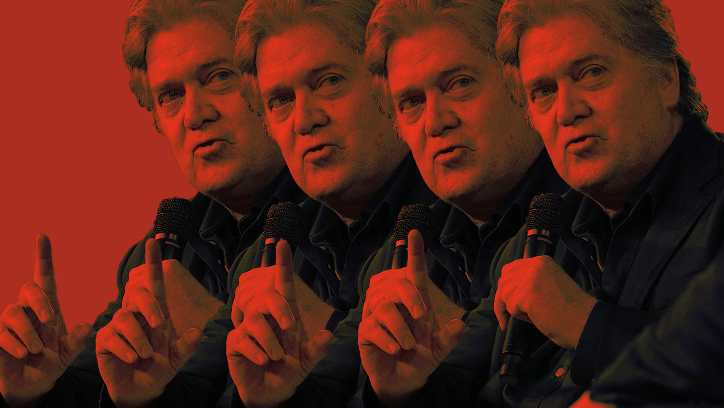 The fired Trump strategist's first big post-White House appearance? Mort Klein's Zionist Organization of America.