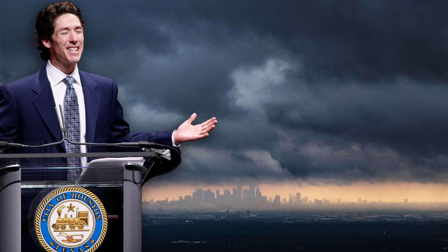 Joel Osteen's 'Prosperity Gospel' Made Him Houston's Hurricane Pariah