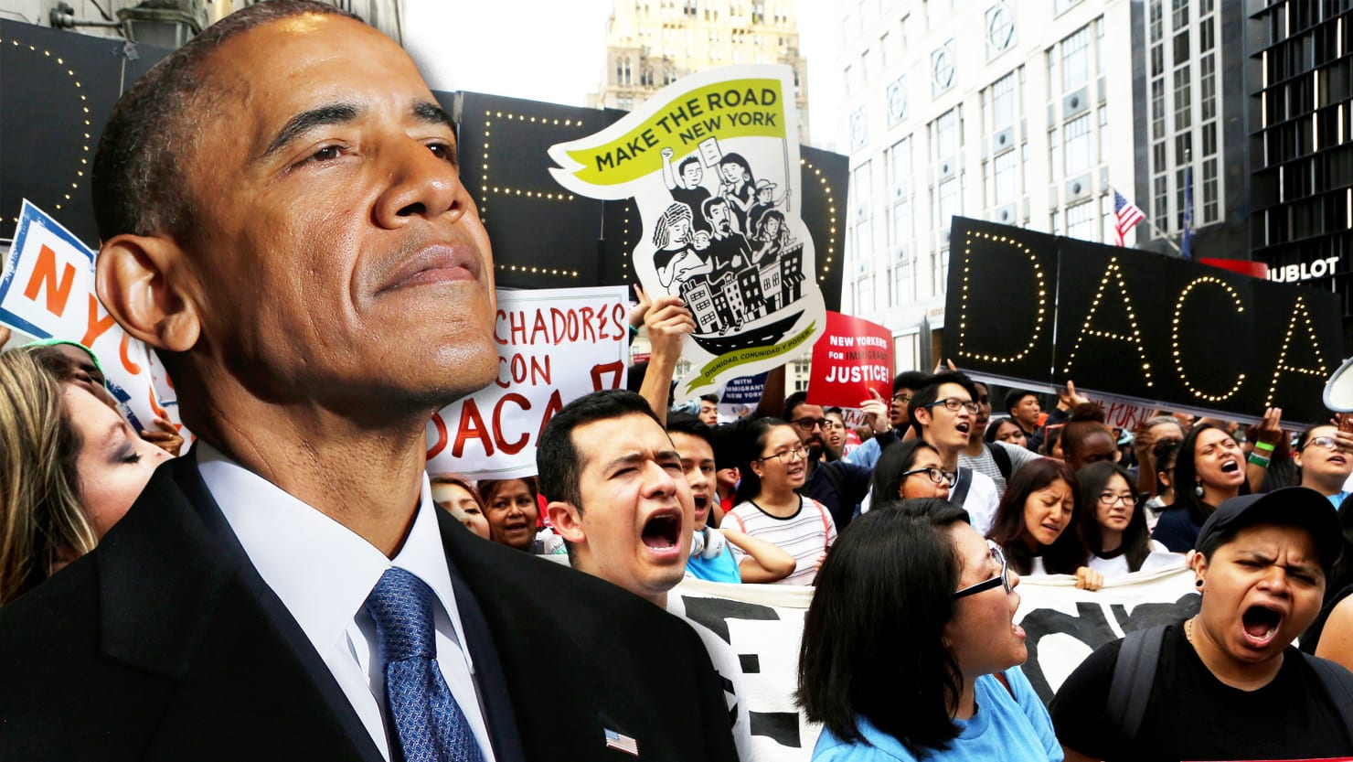 Will obama go to war with trump to protect dreamers - When is obama going to be out of office ...