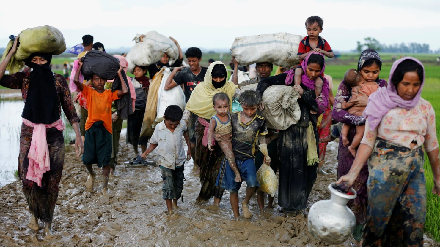 The Rohingya Muslims of Burma are reported to be the most oppressed people on the planet.