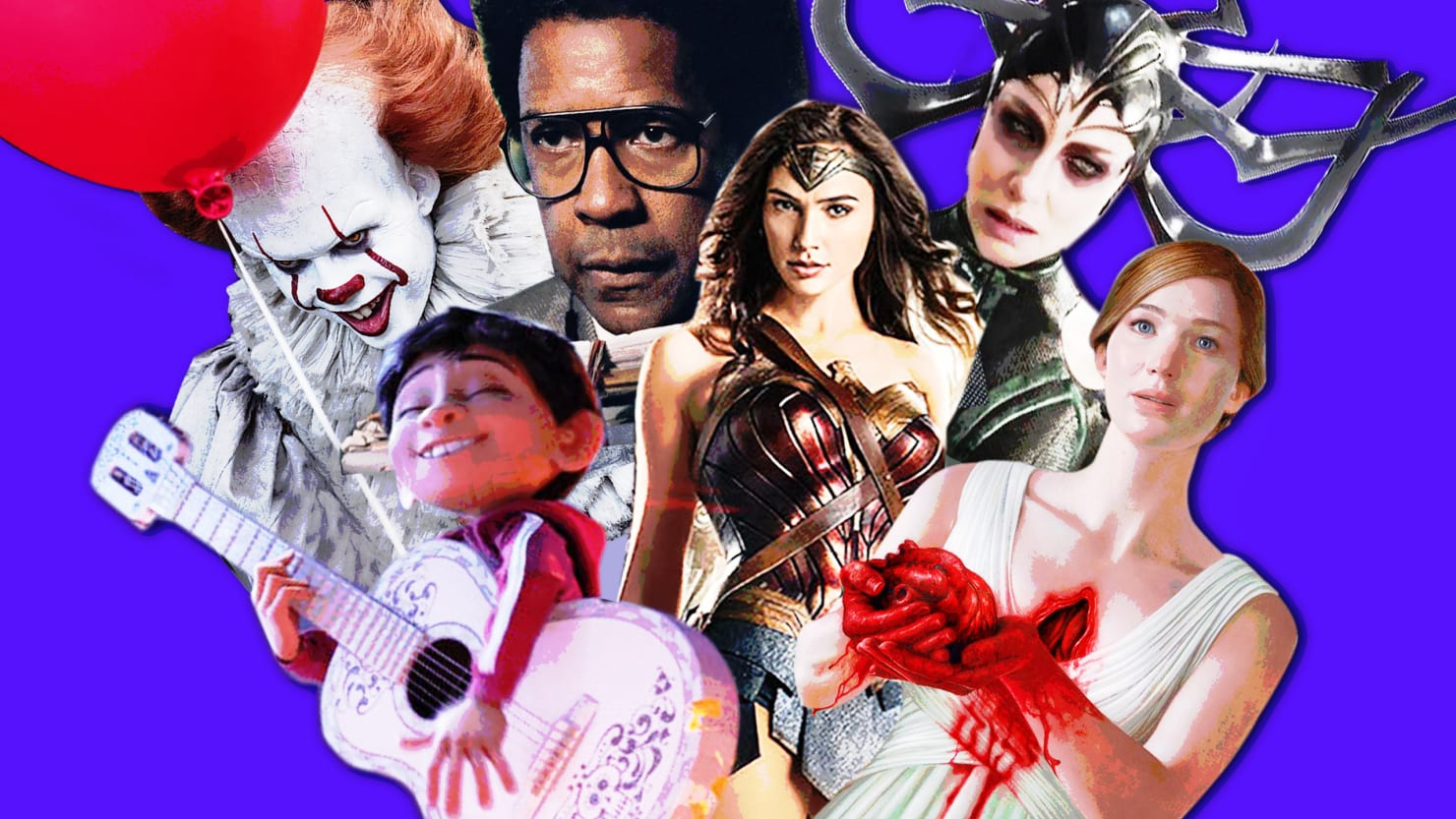 Fall 2017's Hottest Movies: Killer Clowns, Crazy J. Law, Wonder Woman, and More