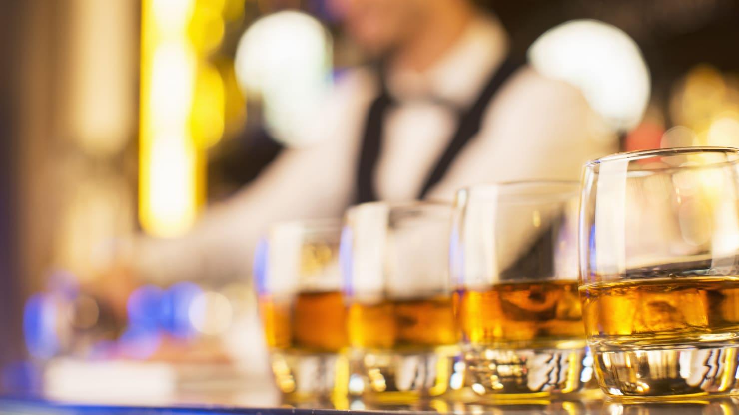 Life Behind Bars Podcast, Bartender Drinks