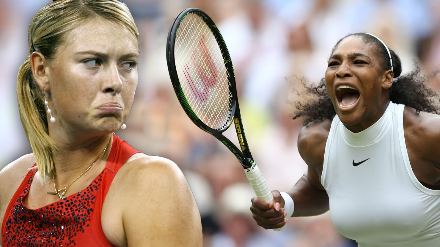 Maria Sharapova s Vile Racially Tinged Treatment of Serena Williams