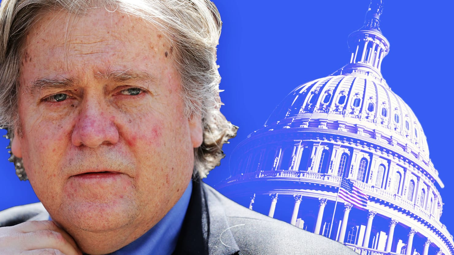 Does Steve Bannon Want the Democrats to Take Congress?