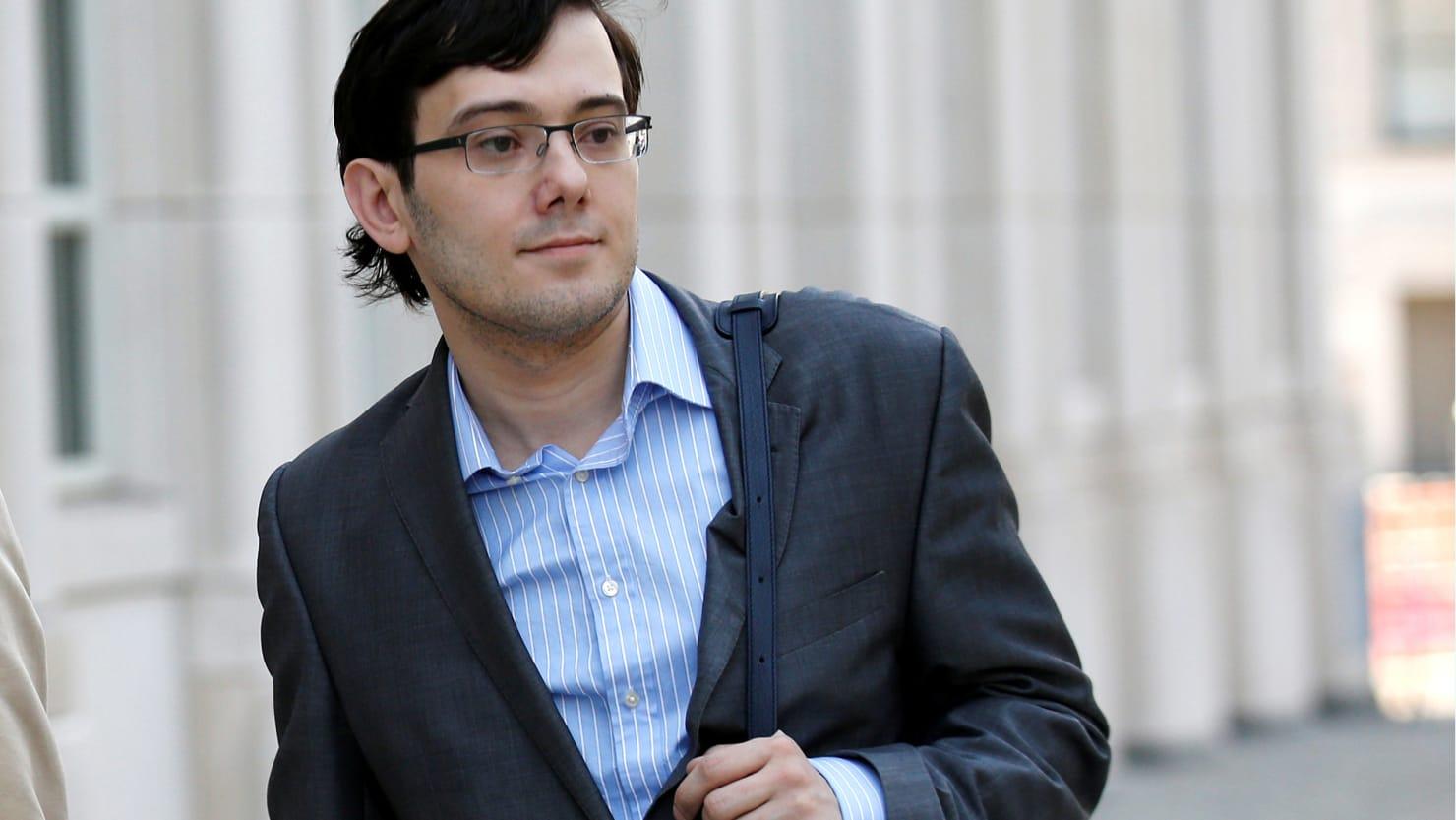 Martin Shkreli's Bail Revoked, Taken Into Custody