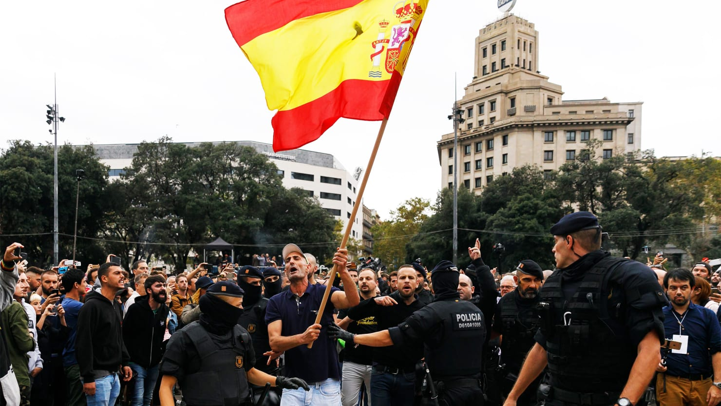 Spanish Police brutality shocks Europe