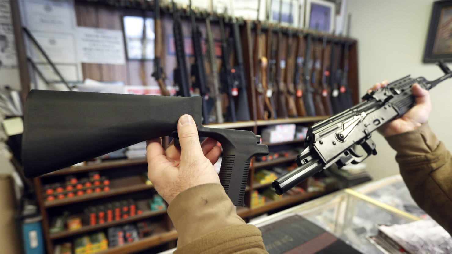 the nra appeared to open the door on gun control the fine print  getty