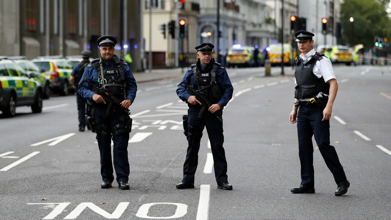 Pedestrians  >> Several Injured As Car Strikes Pedestrians Near London Museum The