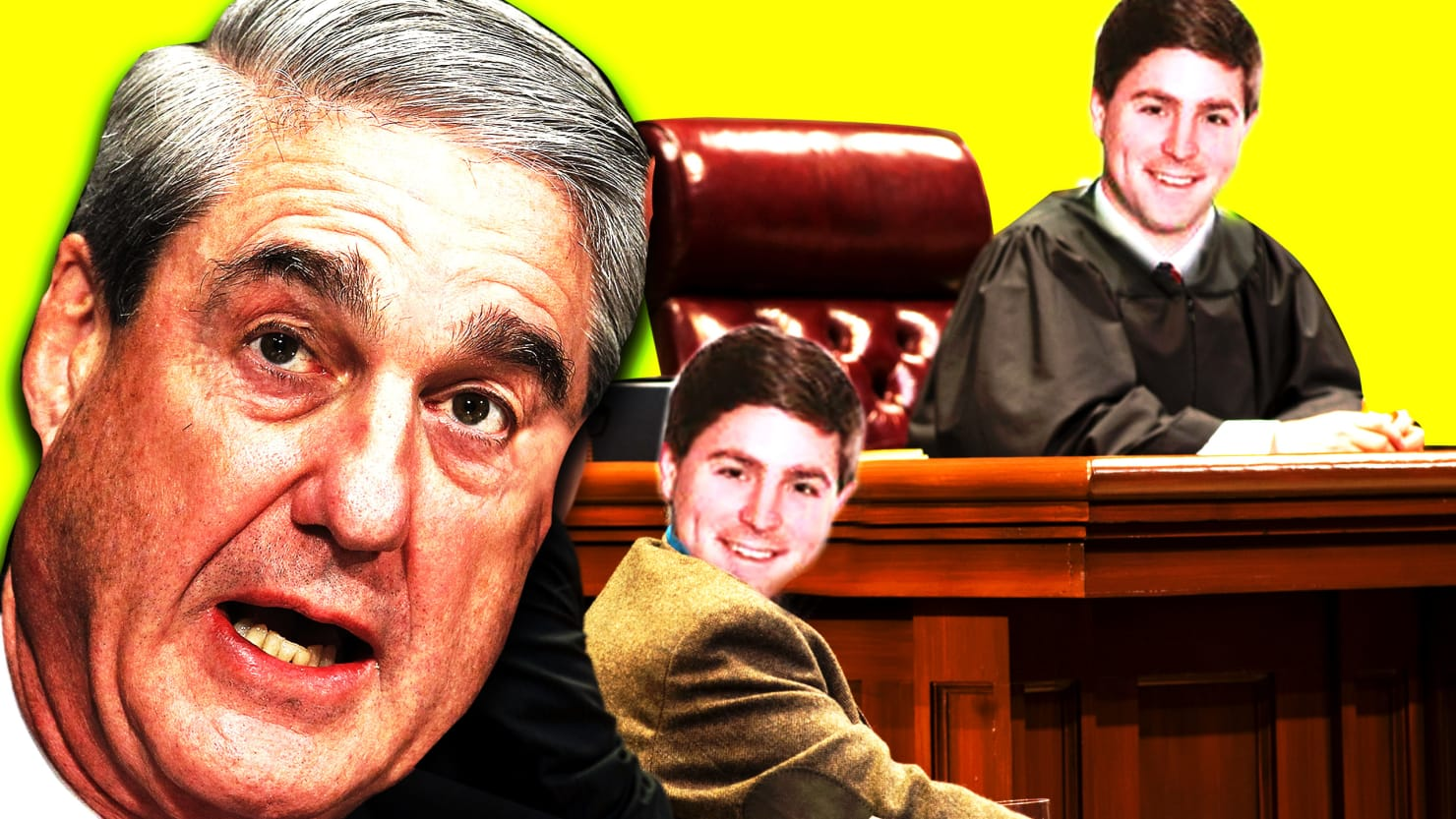 Alleged Mueller Witness James Burnham Is On Trump's Judicial Wish List