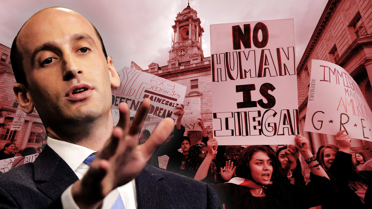 How Stephen Miller Submarined The Trump-Schumer-Pelosi DACA Deal