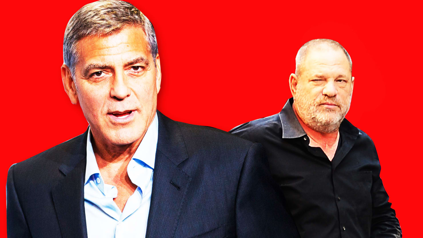 George clooney speaks out on harvey weinstein its disturbing on the actor filmmaker philanthropist opened up to the daily beast about the sexual misconduct allegations against harvey weinstein and hollywood complicity stopboris Image collections