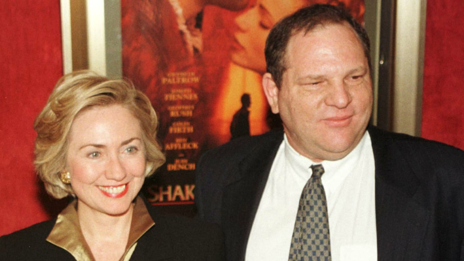 f1521600 Hillary Clinton Says She'll Donate Harvey Weinstein's Contributions