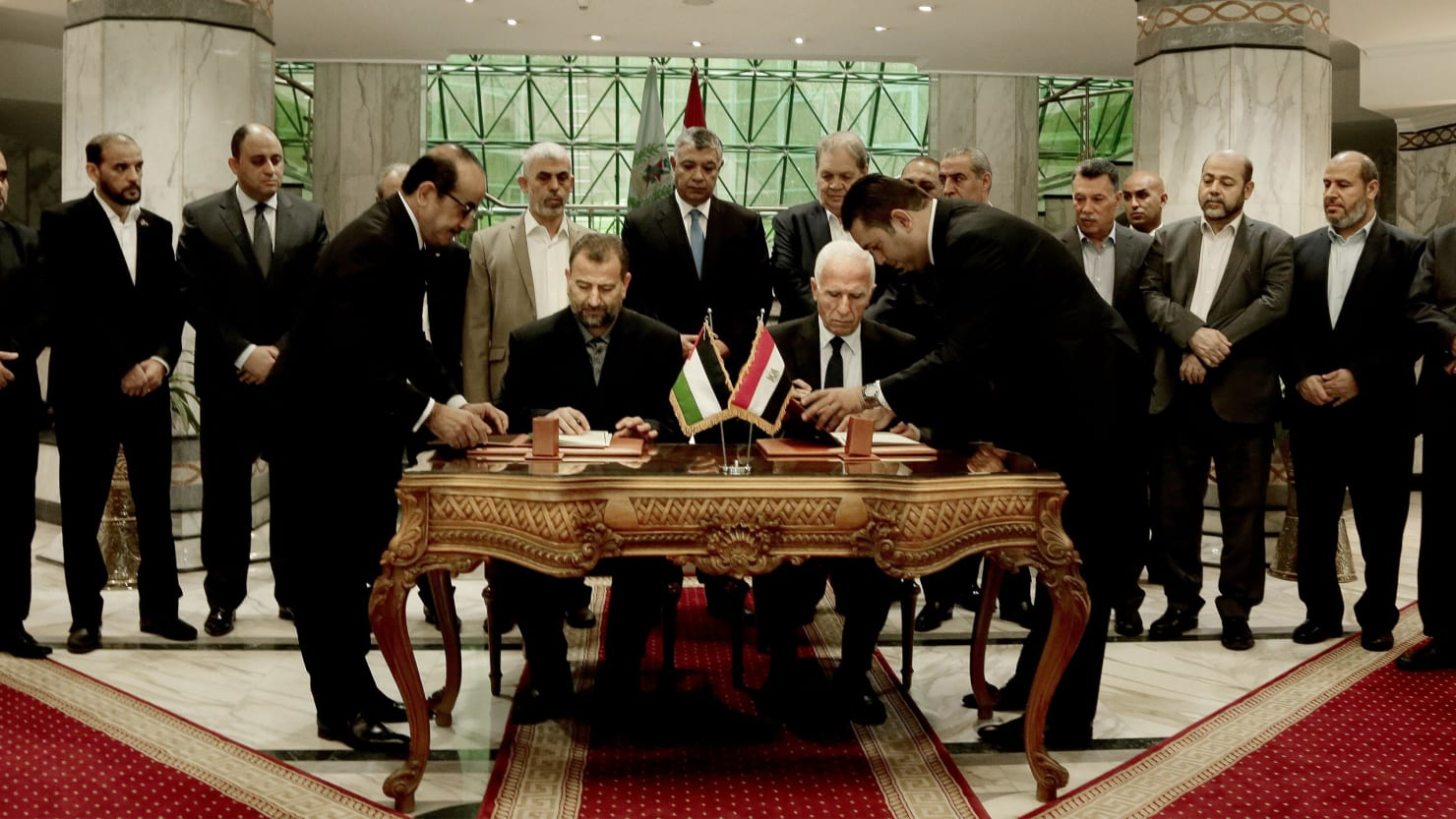 Hamas and Fatah Sign Historic Reconciliation Agreement
