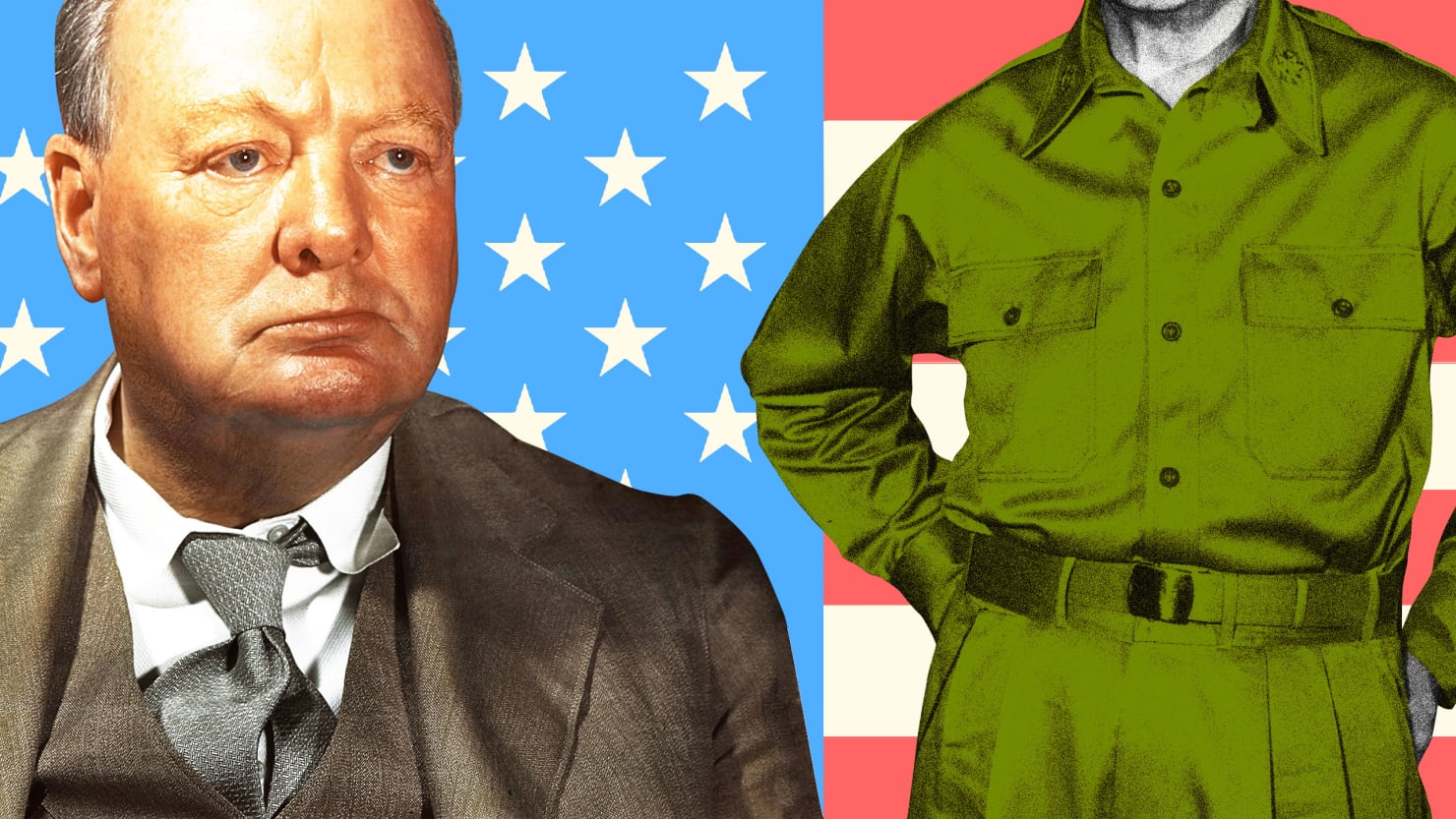The Secret of Churchill's Darkest Hour: An American General in London