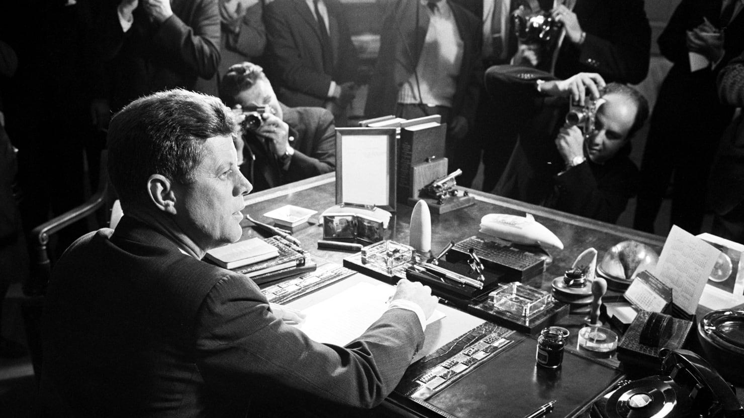 When Journalists Decried JFK's 'Lies' and Fake News Cries