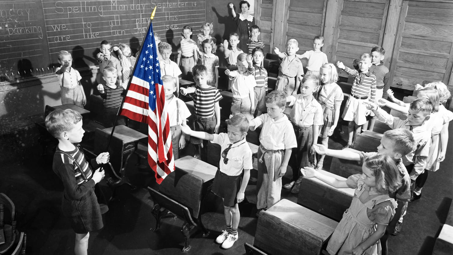 Long Before Donald Trump Demanded NFL Players Stop Kneeling, Patriotism for Profit Began With the Pledge of Allegiance