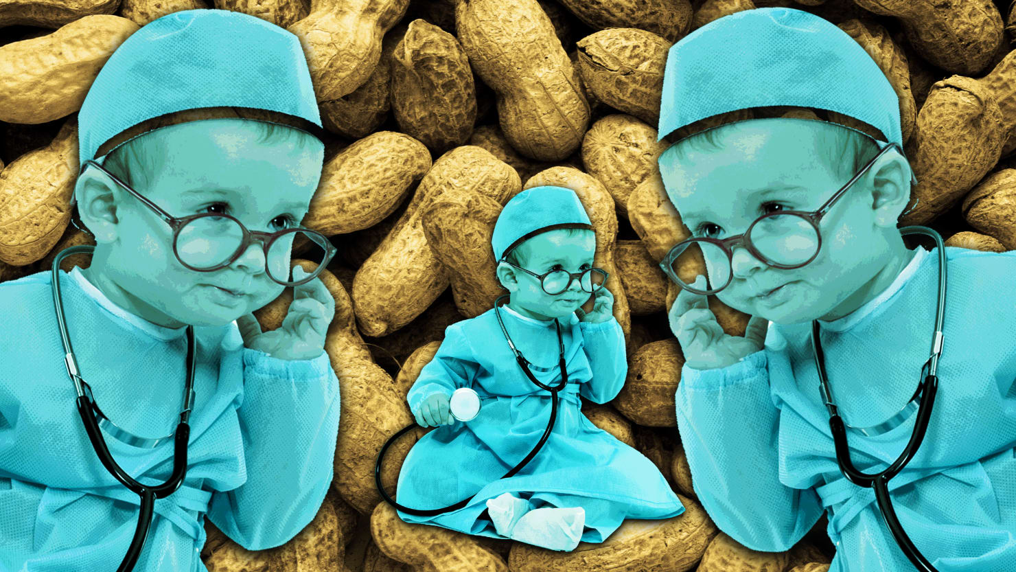 The Cure for Deadly Peanut Allergy Is... Peanuts?