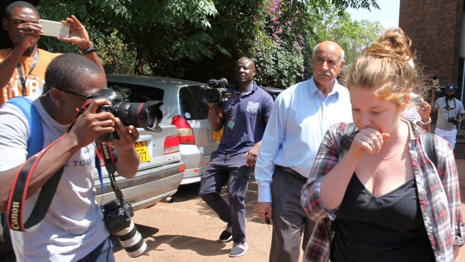 American woman arrested for insulting Mugabe
